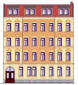15-12-01 Mockauer 14 VH - Plan - Exp01 - Ansicht Strasse